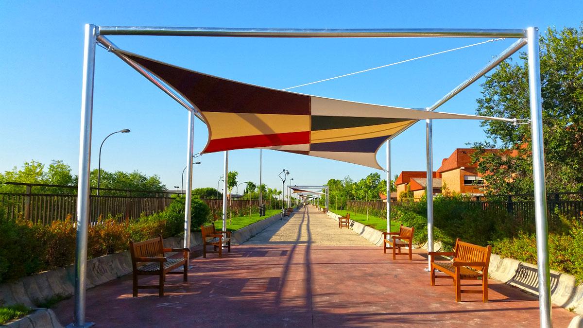 Paisajismo calle Ferrocarril Getafe